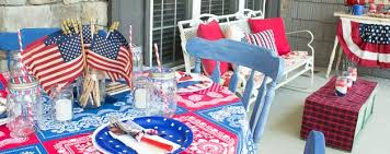 Fourth Of July Door Decorations Patriotic Fourth Of July Party Ideas Atta Says