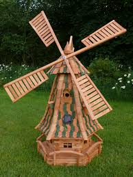 adding a garden windmill can make more decorative impact to your