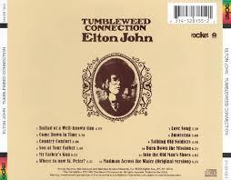 Tumbleweed Tumbleweed Connection Elton John Songs Reviews Credits