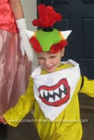 King Koopa Halloween Costume Homemade Bowser Jr Costume Jayden Birthday