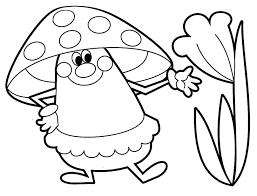 nature and plants coloring pages for babies 5 nature and plants