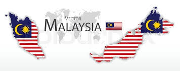 map malaysia vector malaysia federation of malaysia flag and map