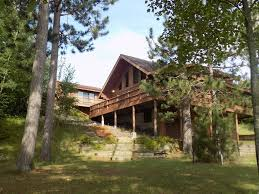 beautiful log home on peaceful lake with g vrbo