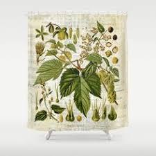 Botanical Shower Curtains Simple Decoration Botanical Shower Curtain Excellent Design