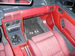 Fox Body Black Interior Cant Decide On My Interior Anyone Have Something Like This