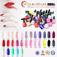 51263j canni wholesale nail art design 29 color sunlight one step
