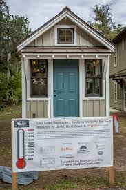 for flood victims the first of many tiny homes built in bluffton