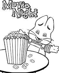 the coolest interesting max and ruby coloring pages games
