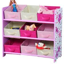 boxen regal kinderzimmer kesper 17746 kinder aufbewahrungsregal 9 textilschubladen rosa