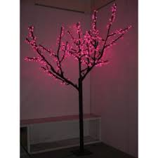 8 ft pre lit led cherry blossom tree pink 629 99 found at