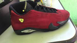 retro ferrari shoes jordan ferrari 14 re dye youtube