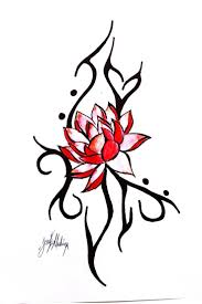tribal tattoos with roses designs the 25 best red lotus tattoo ideas on pinterest pink lotus