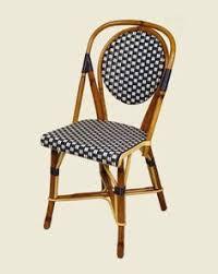 Single Bistro Chair Maison Gatti The Quintessential Parisian Bistro Chairs For The