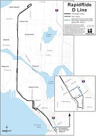Seattle Link Rail Map Rapidride C U0026 D Extensions Programs U0026 Projects King County