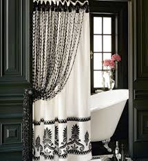 Curtains For Bathroom Windows Ideas Colors Curtains U0027 Designs For Bathrooms And Showers Stall Shower White