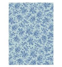 blue wrapping paper toile wrapping sheets by rifle paper co made in usa