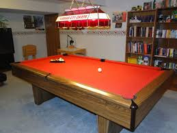 Red Floor Paint Bewildering Rectangle Red Brown Wooden Kasson Pool Table Grey