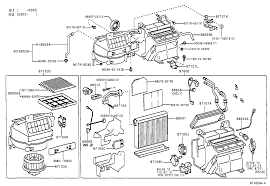 lexus parts belgium lexus is200 300gxe10r aefvkq electrical heating air