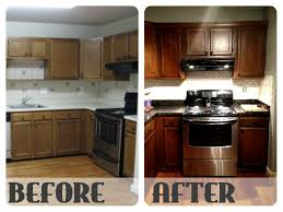 How To Paint Kitchen Cabinets White Without Sanding Granite Countertop Paint How To Stain Kitchen Cabinets Without