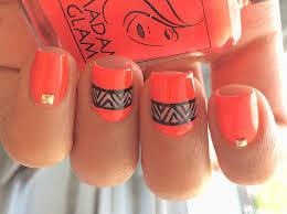 easy neon nail art madam glam youtube