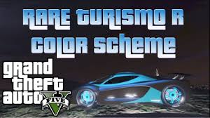gta 5 rare turismo r color scheme rare paint jobs on gta 5 youtube