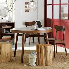 west elm round dining table new furniture at west elm contemporist