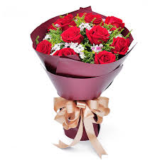 Birthday Flowers Delivery Buy Bouquet Of Red Roses Birthday Flower Delivery To Send His