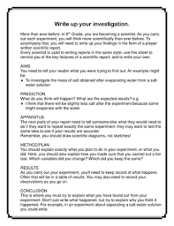 science report template ks2 investigation write up guidance by mrvixen teaching resources tes