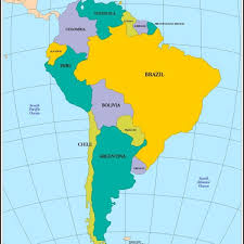mexico america map outline map of central america and mexico the world factbook