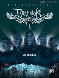 dethklok the dethalbum authentic guitar tab book and dvd