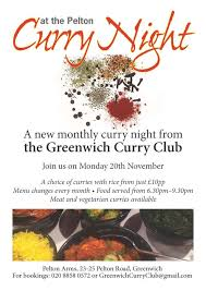 new monthly curry night in greenwich u2013 royal greenwich curry club