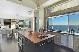 kitchen with butcher block island 57 luxury kitchen island designs pictures designing idea