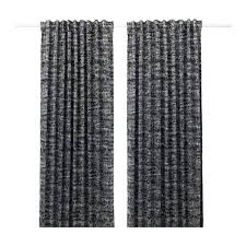 Black Out Curtains Solidaster Blackout Curtains 1 Pair Ikea