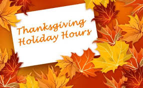 thanksgiving hours brazos health department