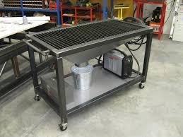 Downdraft Table Design  Welding Plasma Cutting Table - Downdraft table design