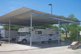 Rv Shade Awnings Metal Rv Covers Metalink Austin Tx