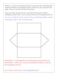 drawing net of a triangular prism u2014 steemit