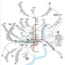 septa map septa rail map