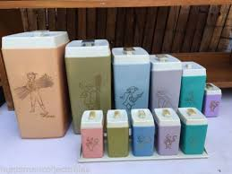kitchen canister sets australia 188 best retro canisters images on vintage kitchen