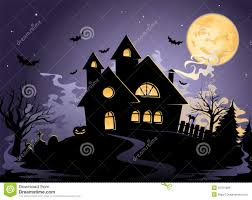 spooky house clipart night spooky house stock photo image 27549920