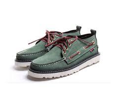Handmade Shoes Usa - 2017 handmade new mens genuine leather breathable boat shoe