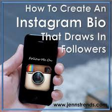 biography for instagram profile how to create an instagram bio that draws in followers jenn s trends