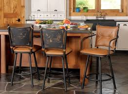 bar chairs for kitchen island metal bar stools with backs for kitchen island thedigitalhandshake