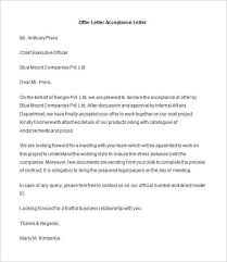 Business Letter Offer offer letter template city espora co