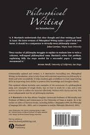 how to write philosophy paper philosophical writing an introduction a p martinich philosophical writing an introduction a p martinich 9781405131674 books amazon ca