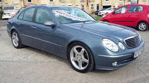 used mercedes benz e class avantgarde 2003 cars for sale motors