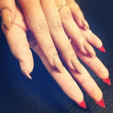 stiletto shaped acrylic nails opi san tantonio opi big apple