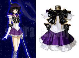 Halloween Costumes Sailor Moon Sailor Moon Sailor Saturn Tomoe Hotaru Purple Dress Fighting