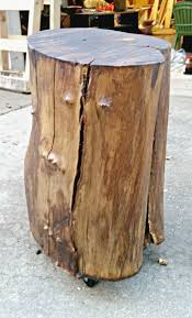tree trunk side table australia home table decoration