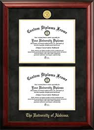 of alabama diploma frame of alabama degree diploma frame 8 5